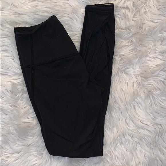 lululemon athletica Pants - Lululemon Black 7/8 Leggings